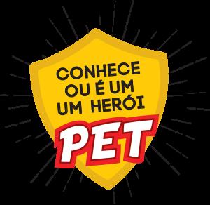 Logo Conhece ou é um herói Pet
